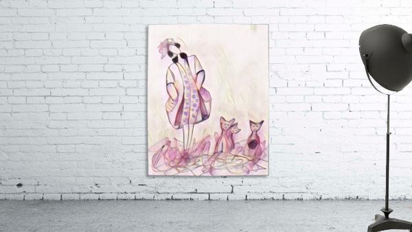 La ricaneuse et ses chat