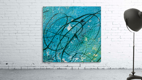 light blue abstract