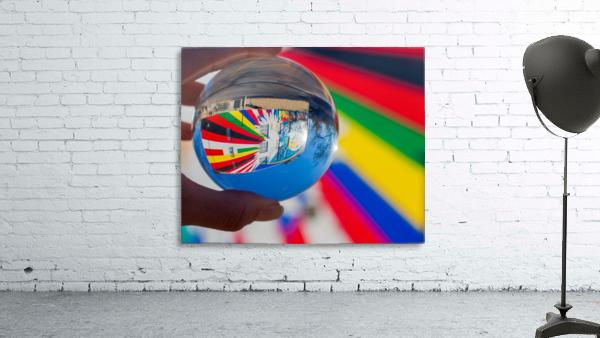 MKE Glass Ball Reflections