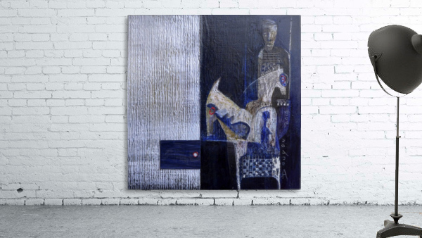 Blue Horserider 1