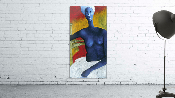 Blue Nude Woman