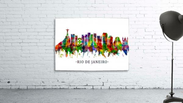 Rio de Janeiro Brazil Skyline