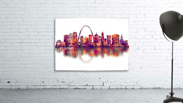 St. Louis Missouri Skyline