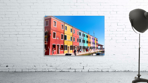 Colorful Venice Houses