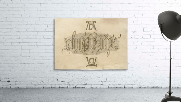 Albrecht Durer Ambigram