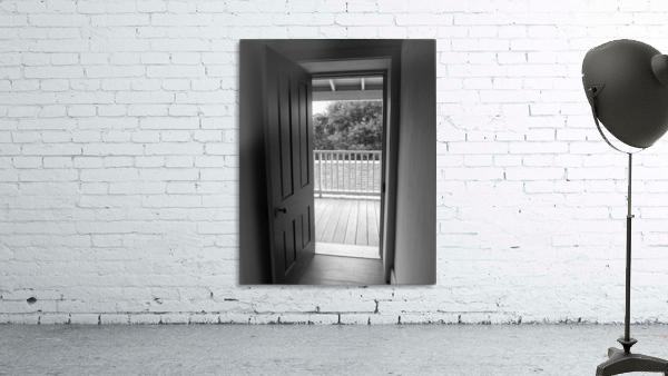 Open Door Black & White