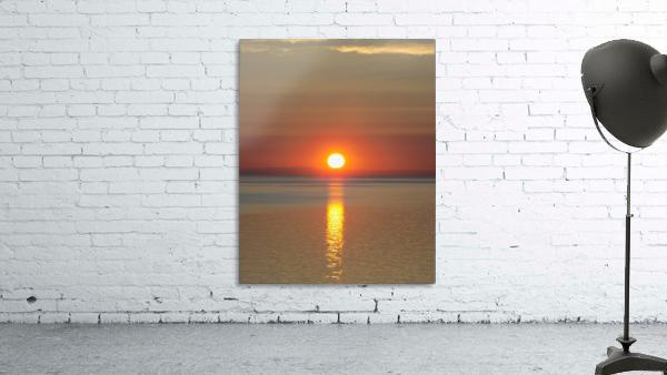 Orange Sunset Vertical