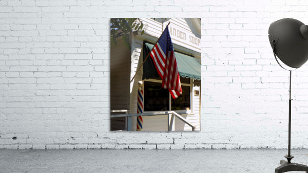 Patriotic Barber Shop