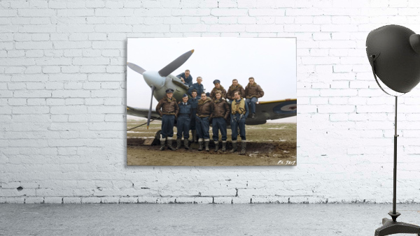 Members of 403 Squadron RCAF February 12 1942