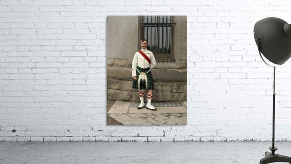 RSM David Nelson 72nd Regt. Seaforth Highlanders of Canada c.1913