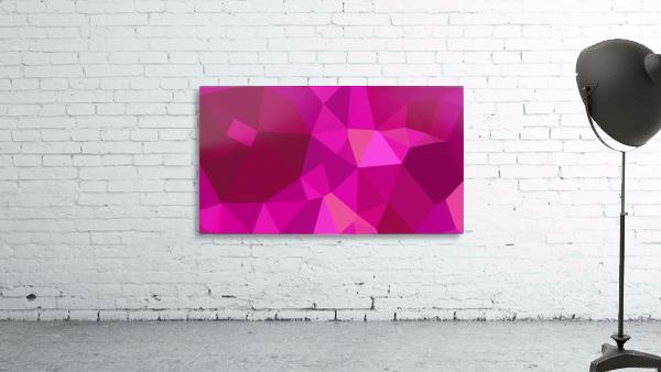 abstract geometric triangular art