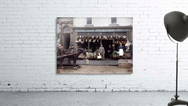 Chas Anderson Grocery Vancouver 1890s