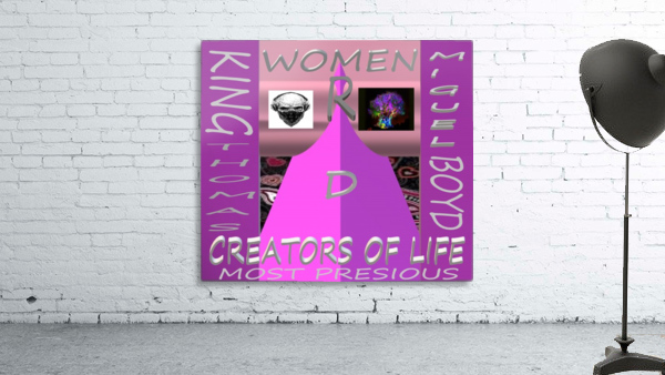 WOMEN R D CREATORS OF LIFE   KING THOMAS MIGUEL BOYD
