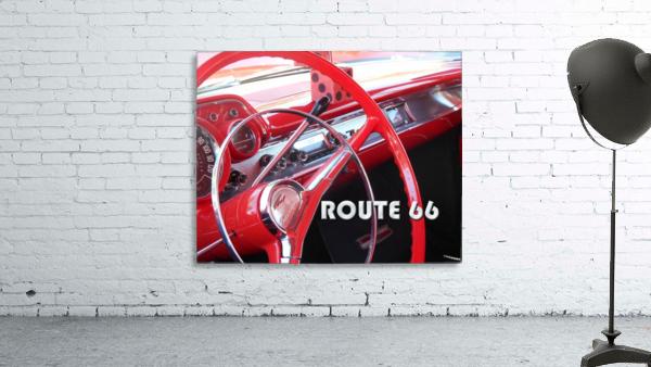 1957 Bel Air Interior - Route 66 Chrome