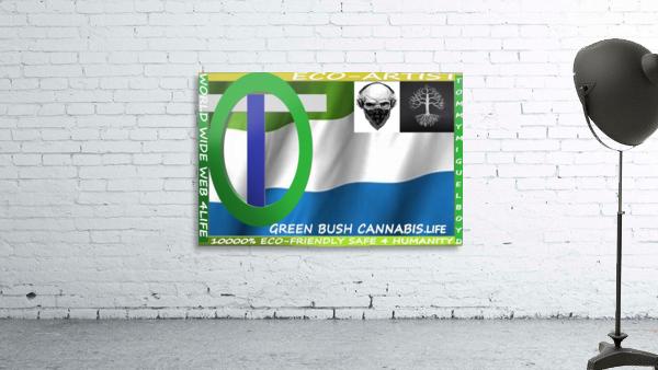 GREEN BUSH CANNABIS. LIFE