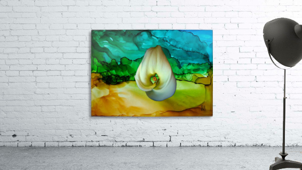 Alcohol Ink and Lily II