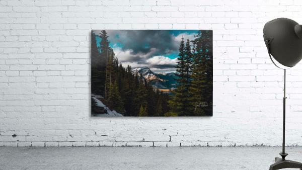 Cascade Mountain Through The Trees