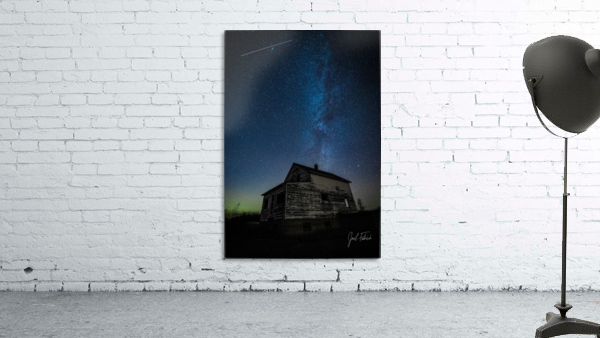Abandoned House Milky Way   Hi Res   A3