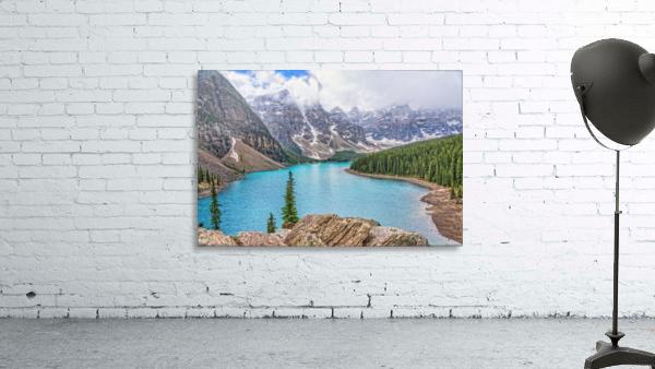 Moraine Lake in Banff National Park BC