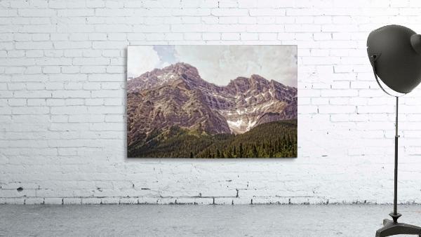 Cascade Mountain in Banff National Park BC