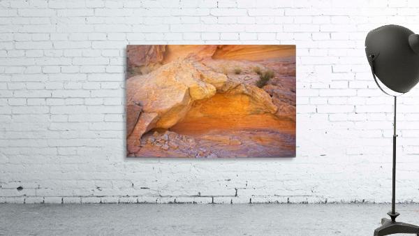 Rock Overhang in Valley of Fire