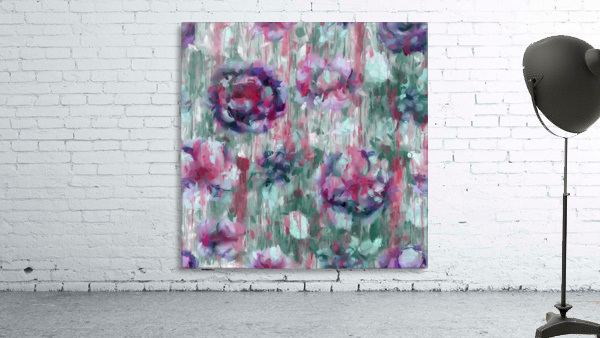 Multicolor Abstract Floral