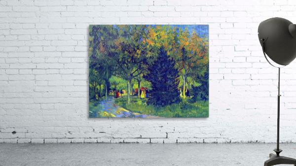 Allee in the Park by Van Gogh