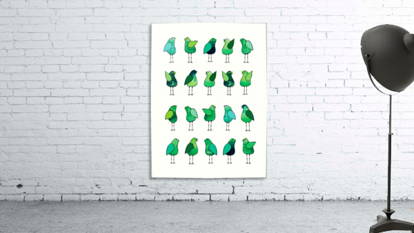 Gossip Birds Green