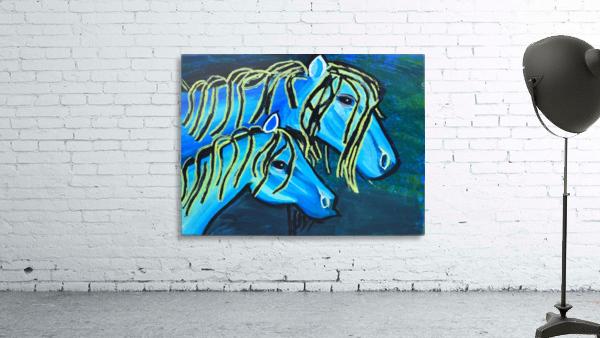 Blue Horse. Glenn N