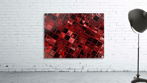 Red Glass Tiles 3