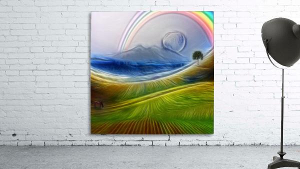 Painterly Peaceful Landscape