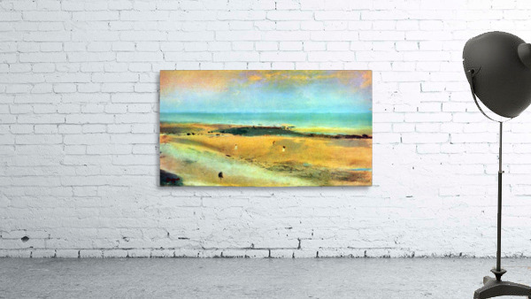 Beach at low tide 1 by Degas