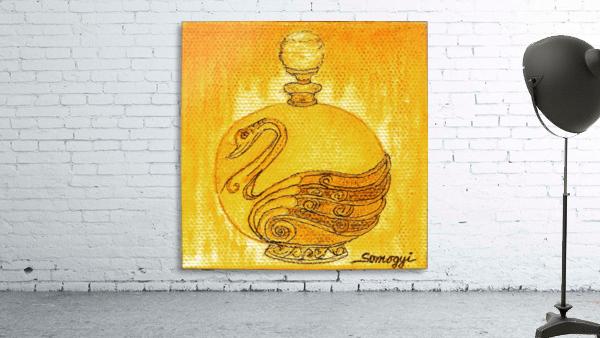 Bottled Gold Swan