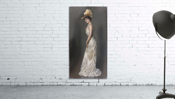 Portrait de madame Rene Prejelan