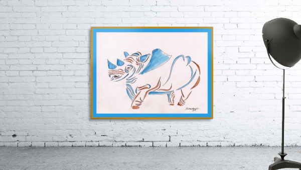 Do Rhinos Come in Blue