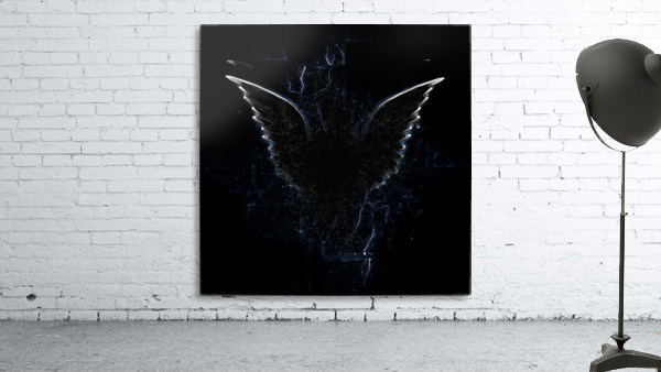 Outline of Winged Creature