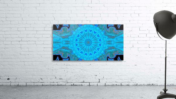 Blue Wildflower in Light