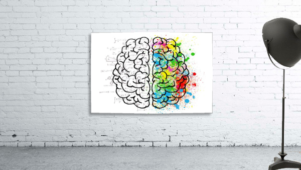 brain mind psychology idea drawing