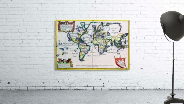 Ancient World Map 4