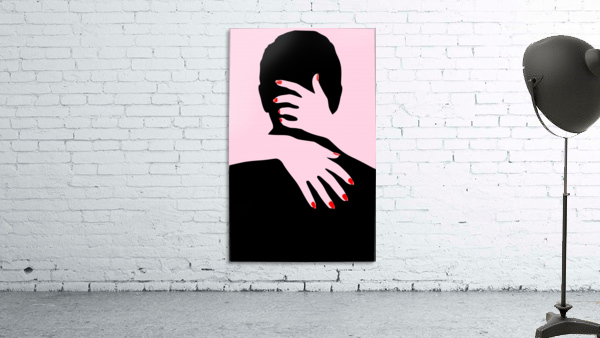 poster the hands embrace love