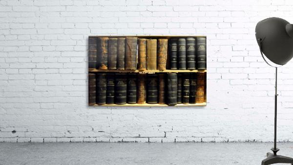 books old vintage library shelves