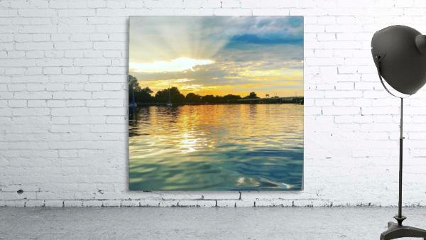 Washington Channel Sunset