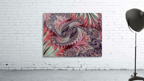 Fractal Art-Silk Brocade