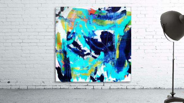 Abstract Ikat
