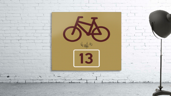 Bike Route number 13