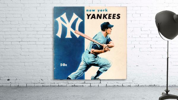 1956 New York Yankees Yearbook Wall Art