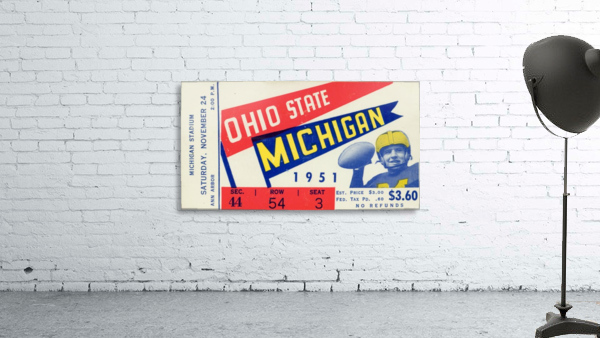 1951 Ohio State vs. Michigan