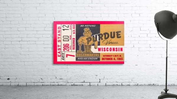1955 Wisconsin vs. Purdue
