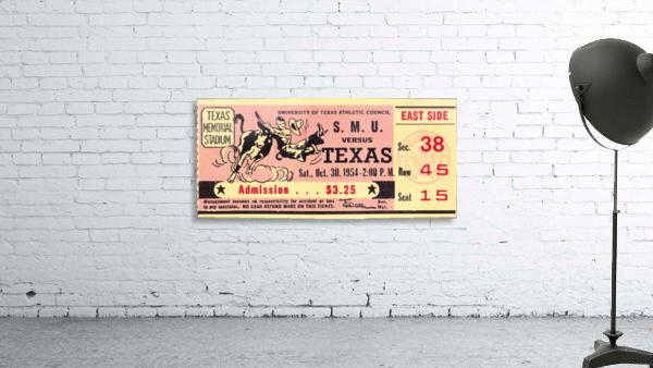1954_College_Football_Texas vs. SMU_Texas Memorial Stadium_Austin_Row One Brand