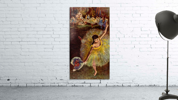 End of the arabesque by Degas